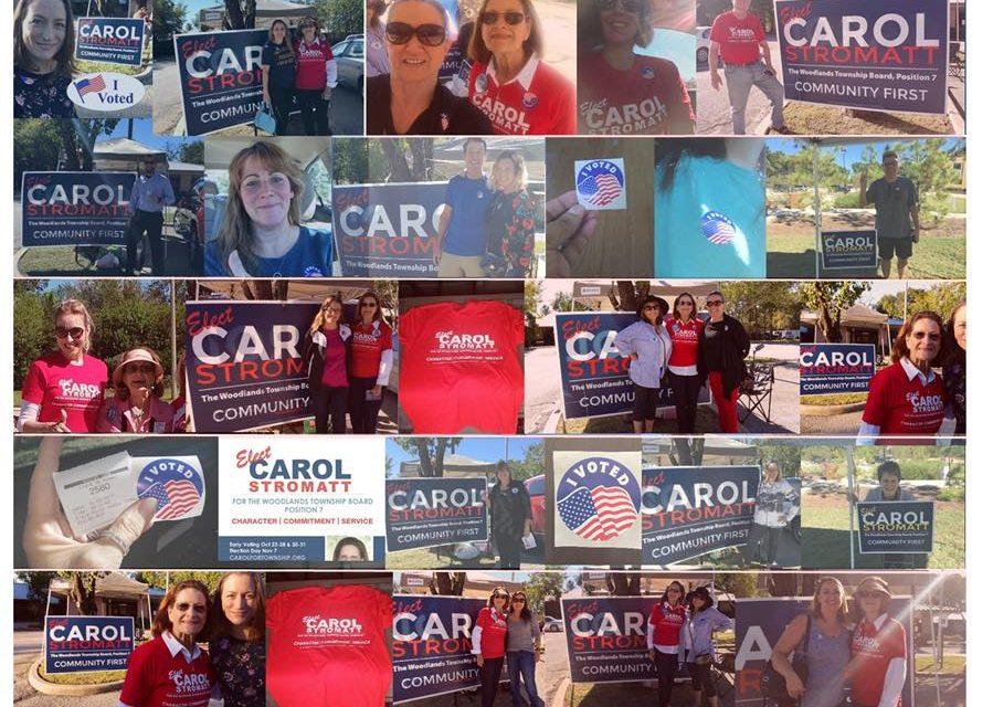 Endorsement: Carol Stromatt for Township Board Position 7